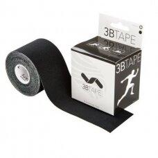 3B Tape kineziologinis teipas juodas
