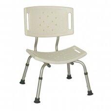 Dušo kėdė su plačia nugara