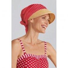 Kepuraitė Daphne raudona