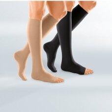 Kompresinės DUOMED kojinės iki kelių, atvirais pirštų galais
