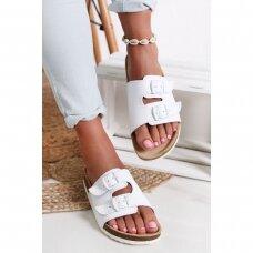 Ortopediniai sandalai suaugusiems balti T13 (35-46 dydžiai)