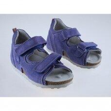 Vaikiškos ortopedinės basutės violetinės T115B (28-38 dydžiai)